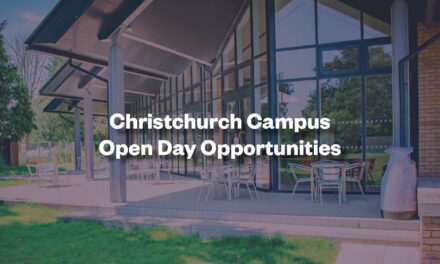 Christchurch Campus Open Day Opportunities (Undergraduate)