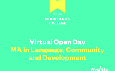 MA in Language, Community and Development Postgraduate Virtual Open Days & Resources