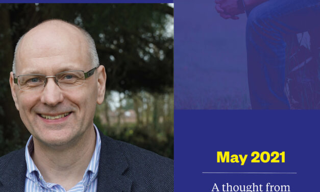 May 2021 – A thought from the Principal