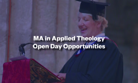 MA in Applied Theology Virtual Open Days Bookings